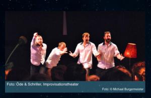 Bild des Improtheater Ensembles Öde und Schriller