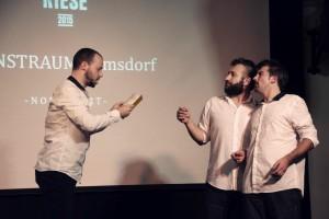 Öde und Schriller - Moderation und Spiel Verleihung KulturRiese 2015